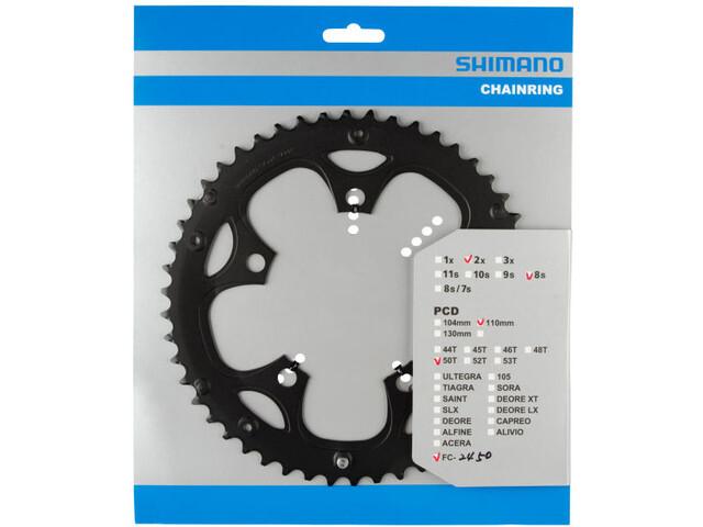 Shimano Claris FC-2450 Zębatka rowerowa, black